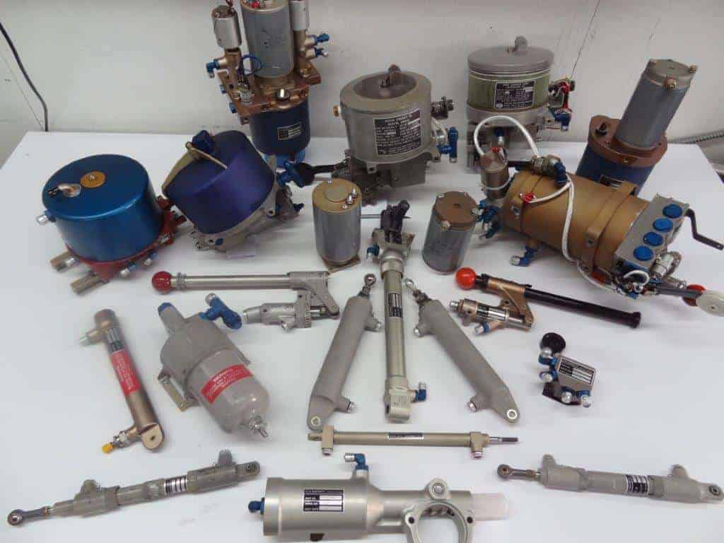 Some Hydraulic Component Cox Airparts Overhauls
